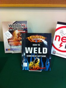 Welding books